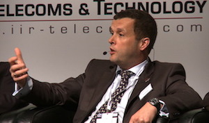 Euros Evans, Airwave Chief Technology Officer speaking at Critical Communications World 2012 in Dubai
